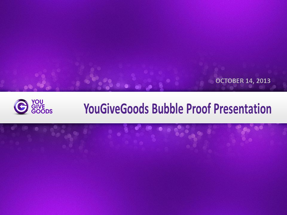 www.YouGiveGoods.com THREE TYPES OF CHARITY 2 Back To Top Money Time Stuff