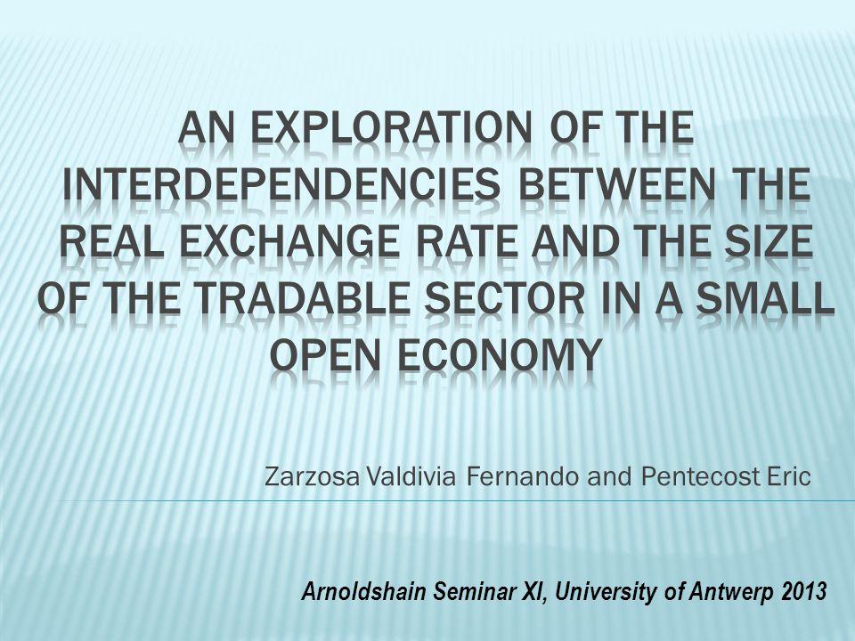 Zarzosa Valdivia Fernando and Pentecost Eric Arnoldshain Seminar XI, University of Antwerp 2013
