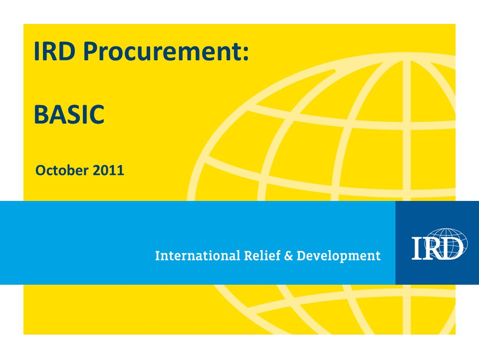 12 Procurement Process: Step 4 Develop procurement strategy Where will you find what you are in need of.