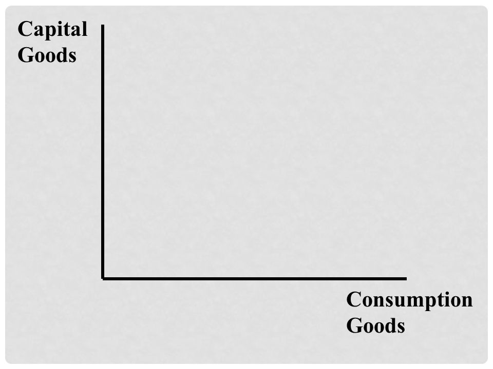 Capital Goods Consumption Goods