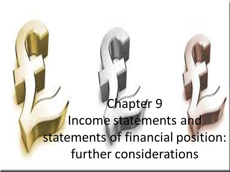 Frank Wood and Alan Sangster, Frank Woods Business Accounting 1, 12 th Edition, © Pearson Education Limited 2012 Slide 9.1 Chapter 9 Income statements