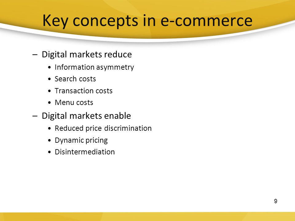 13-16 Types of electronic commerce Business-to-customer (B2C): Retailing of products and services directly to individual customers (Chapters.Indigo.ca) Business-to-business (B2B): Sales of goods and services to other businesses (ChemConnect) Consumer-to-consumer (C2C): Individuals using the Web for private sales or exchange (eBay.ca ) M-commerce: mobile commerce