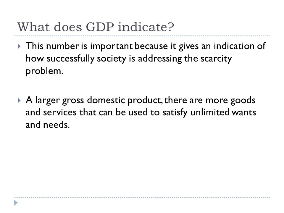 Is GNP a good indicator? It is not an effective indicator for a countrys welfare.
