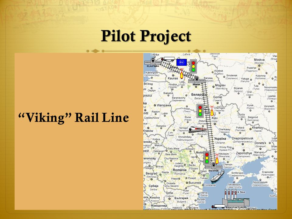 Pilot Project Viking Rail Line