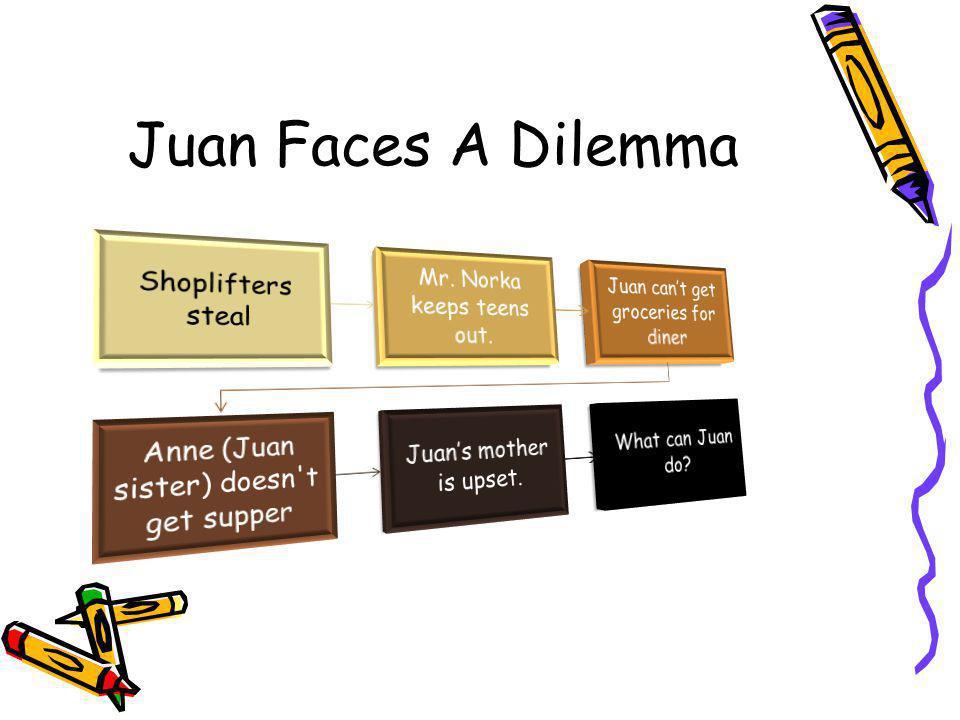 Juan Faces A Dilemma