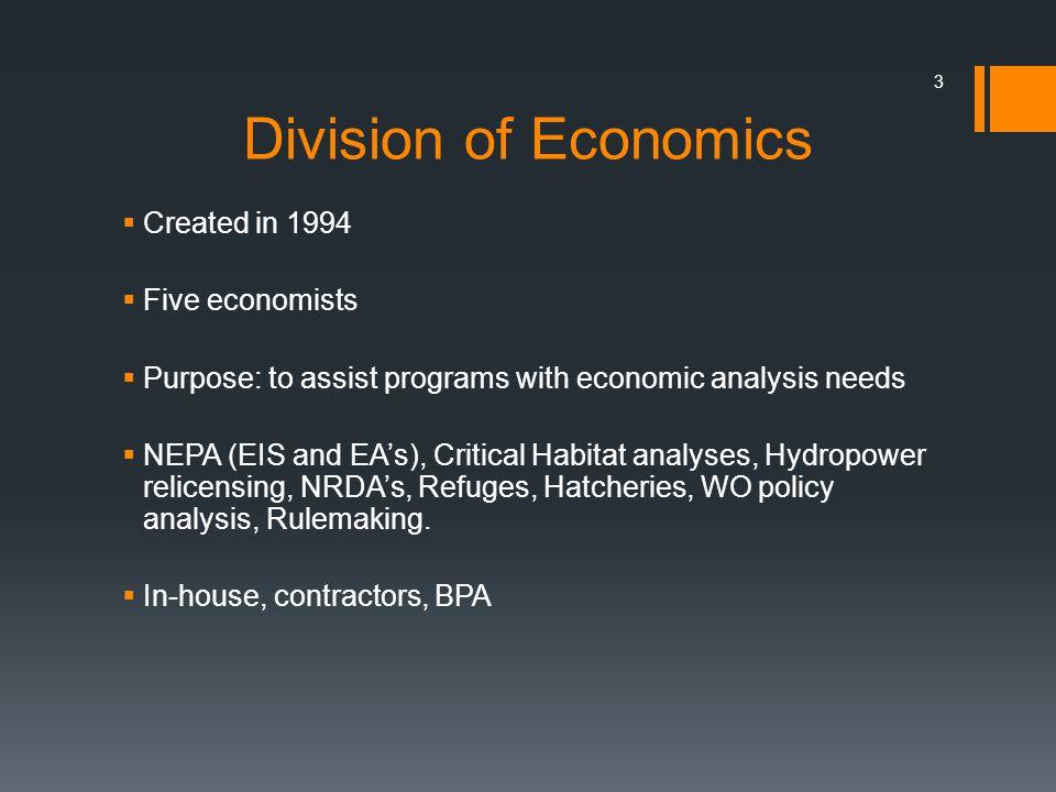 Economic Effects per $1 Budget Average CWT Returns $1.44 1 % Return Rate $4.54