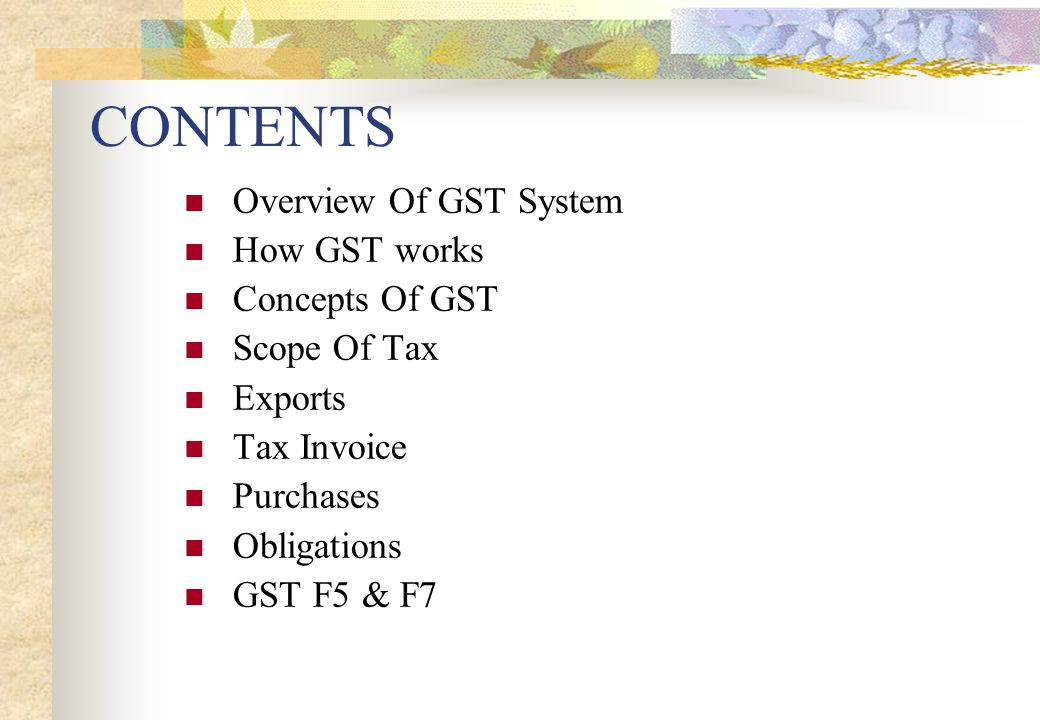 COMMON MISCONCEPTIONS 4. Tourist Refund Scheme: Tourist can claim GST based on tax invoices only