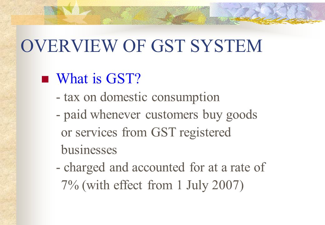 GST F7 (Disclosure of Errors in GST Return) Total errors = $200 +10,000 + 500 = $10,700 Total supplies = $150,000 Percentage of error to total supplies = $10,700/$150,000 X 100 = 7% (>5%) => File GST F7 for the quarter the error was made