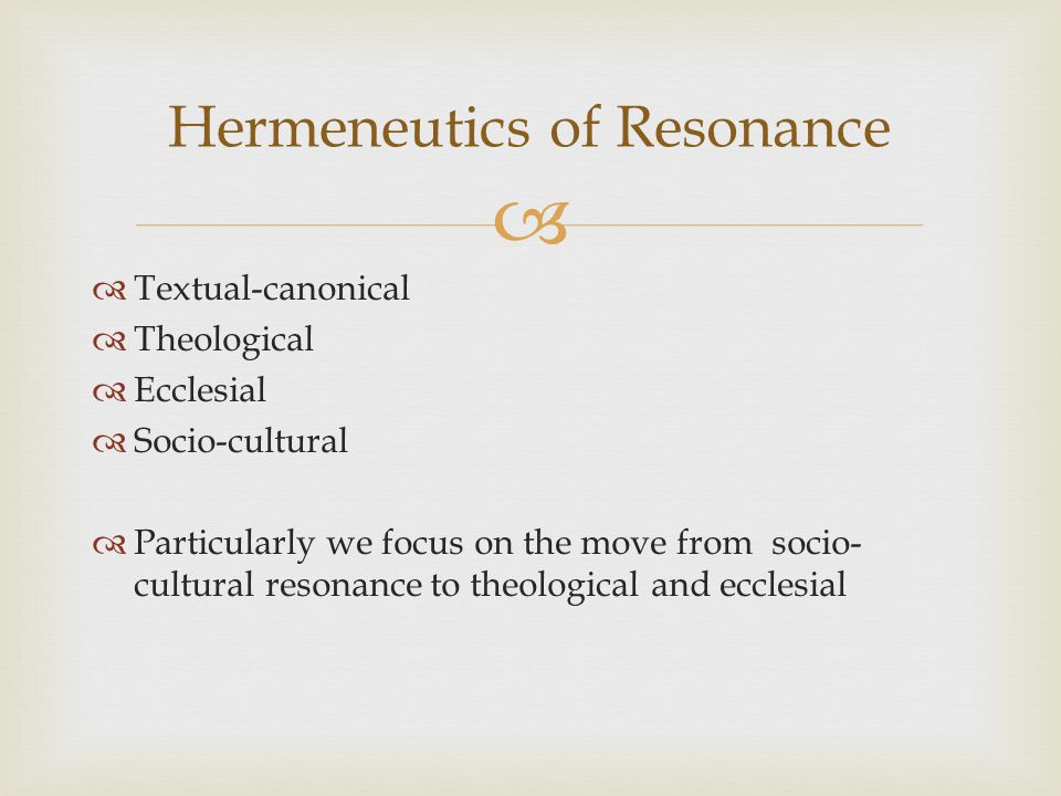 Our society disguises its values as common sense Sociologists call this a hegemony- an engineered consensus The gospel calls us to examine the values on which our society is based.