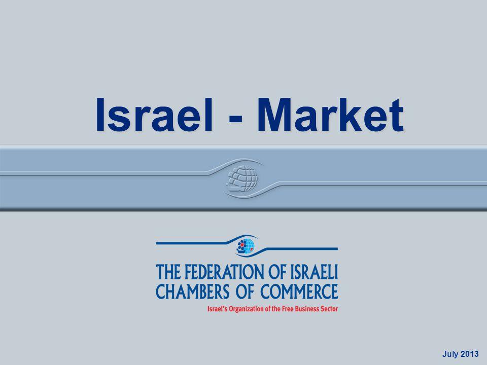 Israel Economy July 2013 Israel - Market