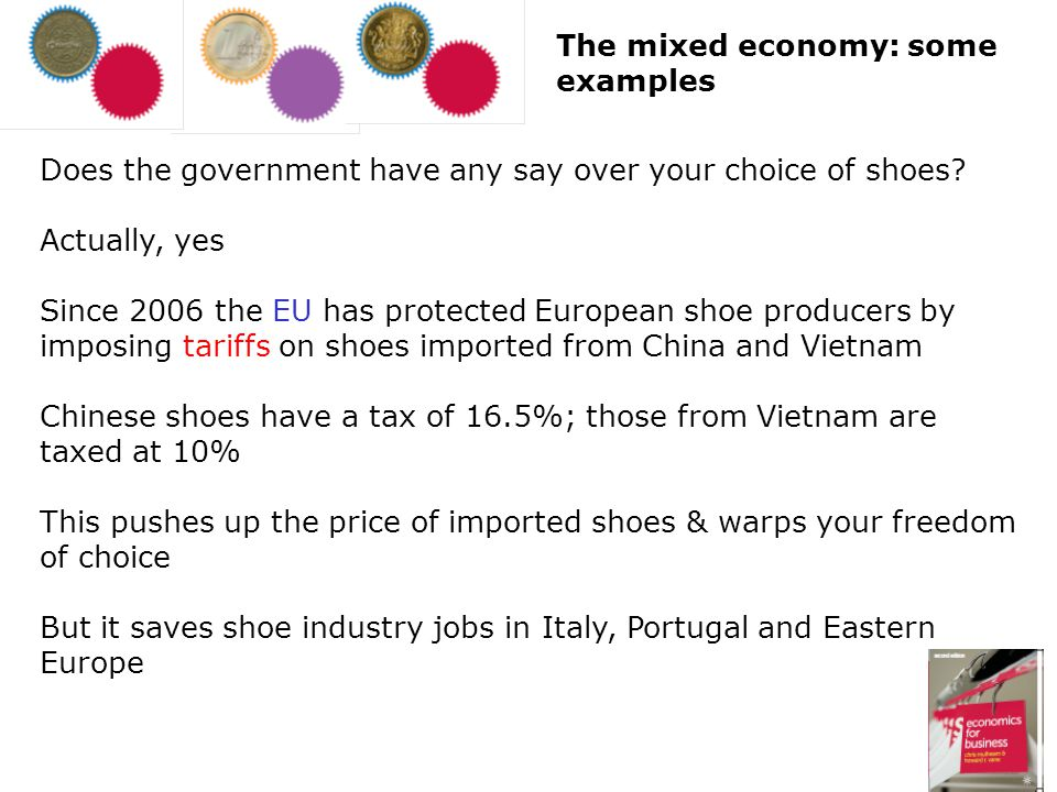 Does the government have any say over your choice of shoes? Actually, yes Since 2006 the EU has protected European shoe producers by imposing tariffs