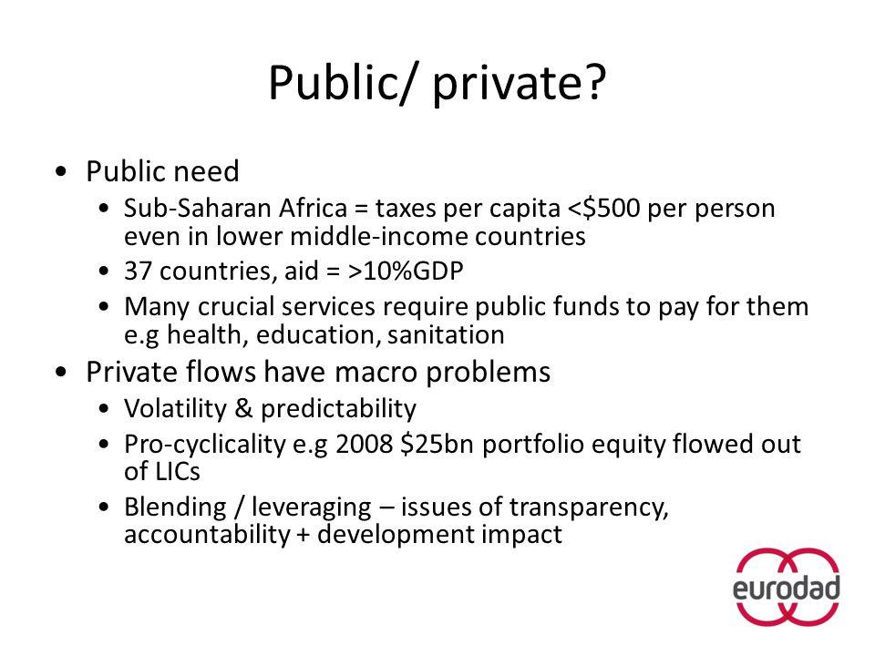 Public/ private.