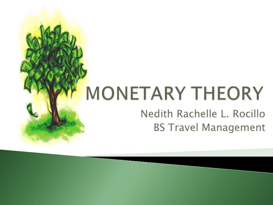 Nedith Rachelle L. Rocillo BS Travel Management