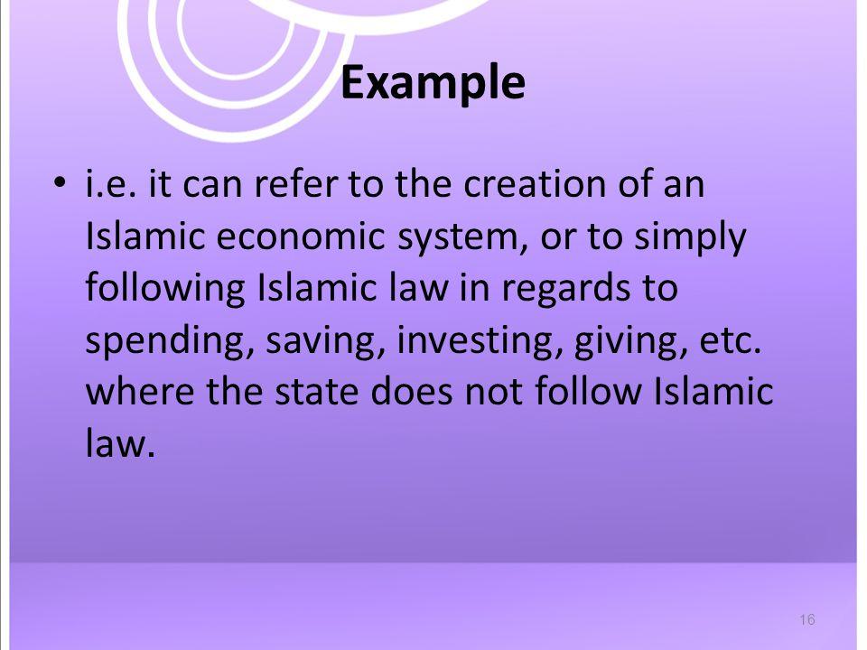 16 Example i.e.