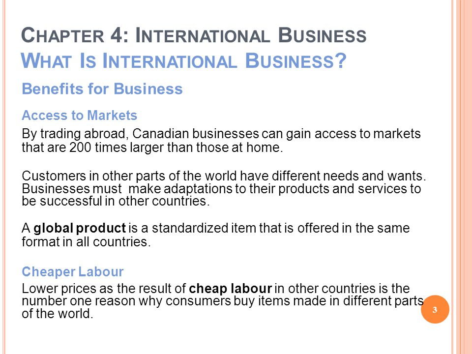 C HAPTER 4: I NTERNATIONAL B USINESS F LOW OF G OODS AND S ERVICES Imports Five Ways to Offset the Risk of Importing 1.