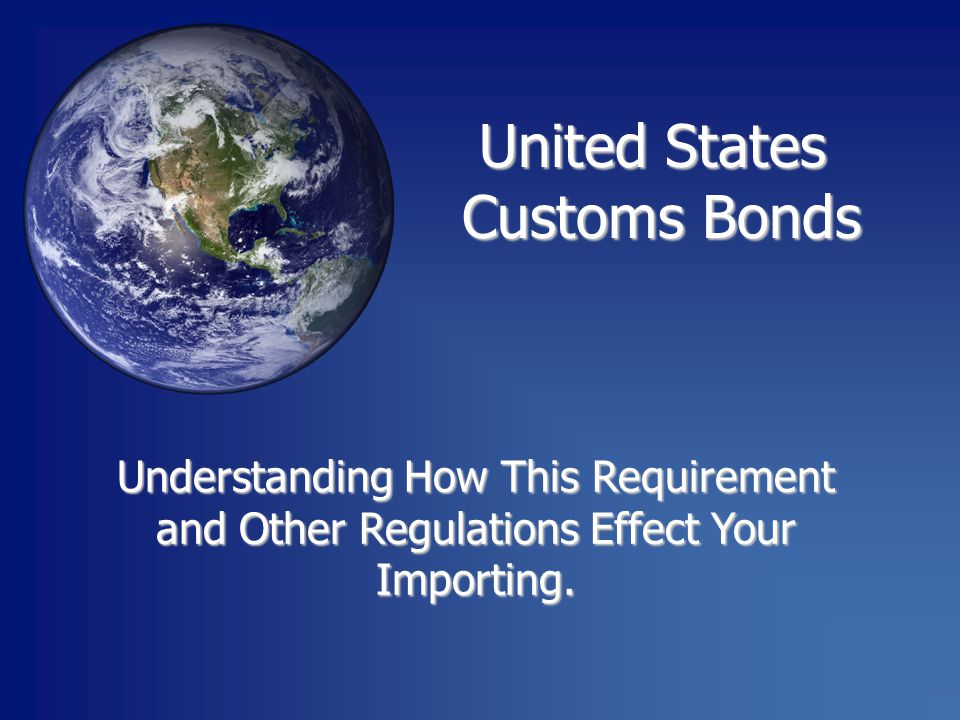 Understanding How This Requirement and Other Regulations Effect Your Importing.