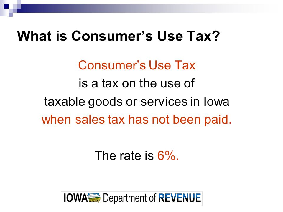 Are Purchases Subject to Consumers Use Tax also Subject to Local Option Tax.