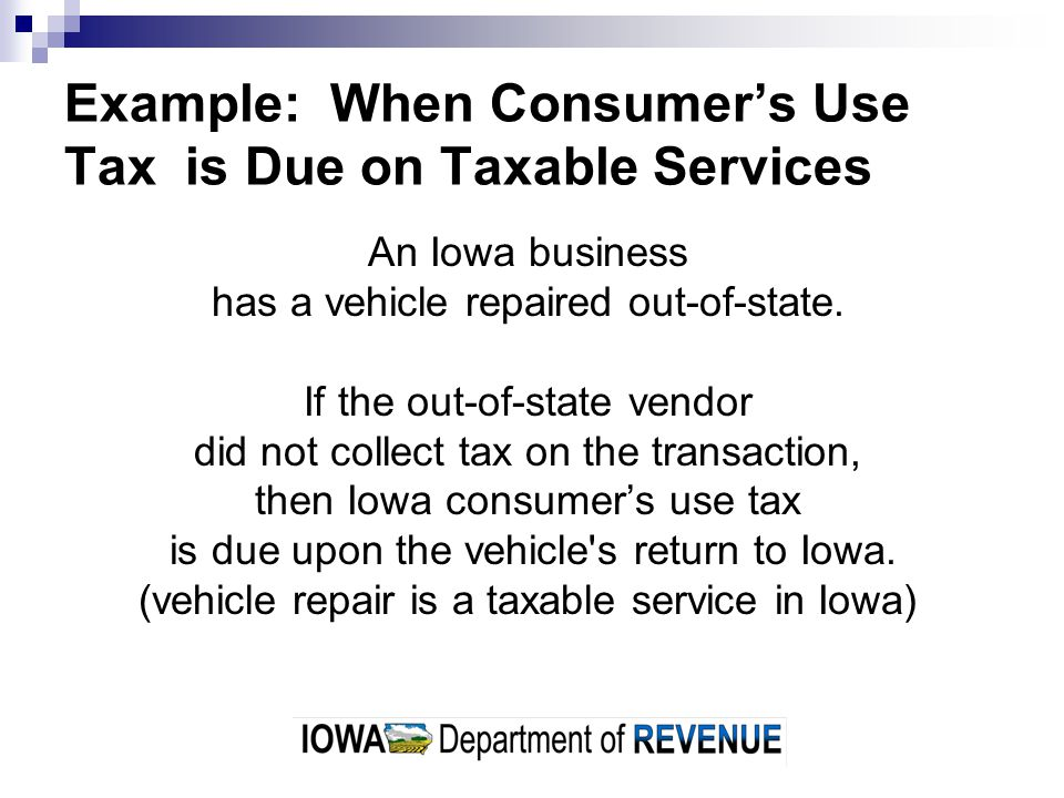 How Do Businesses Pay Consumers Use Tax.