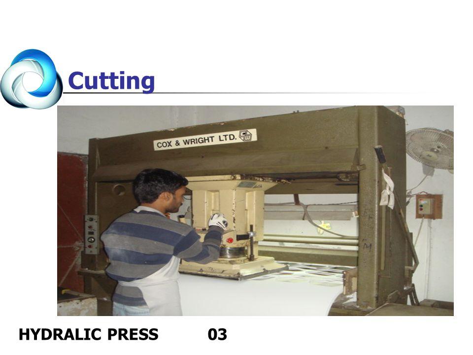 HYDRALIC PRESS03 Cutting