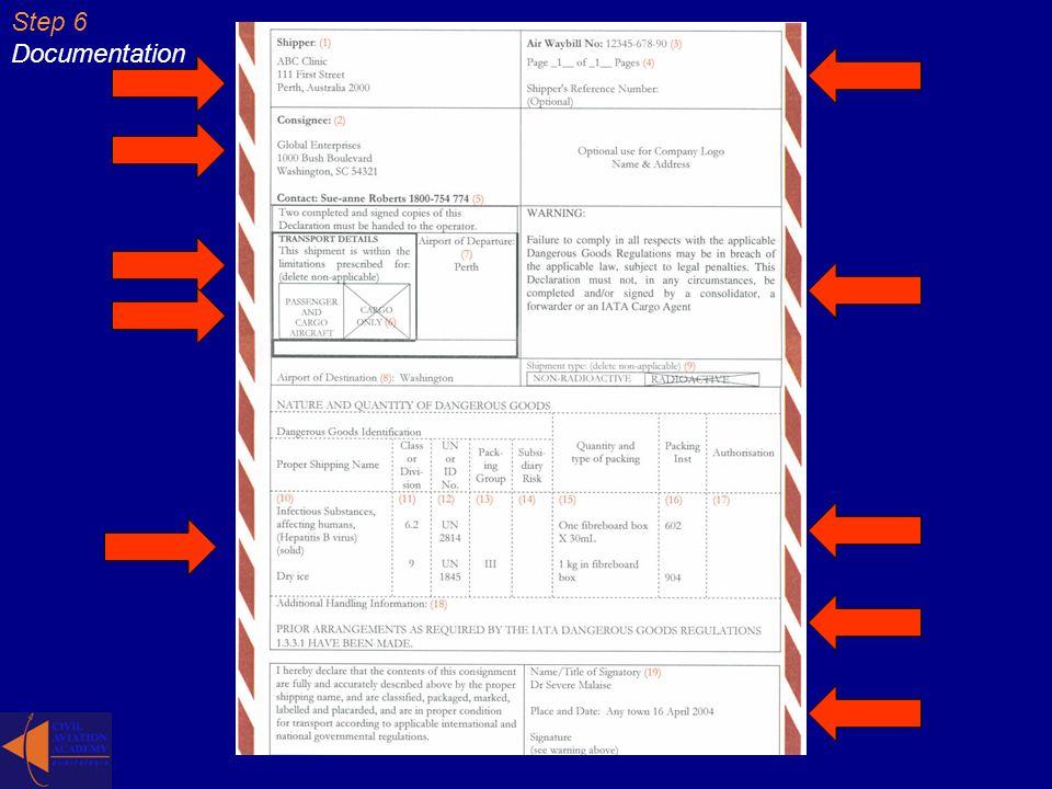 Step 6 Documentation