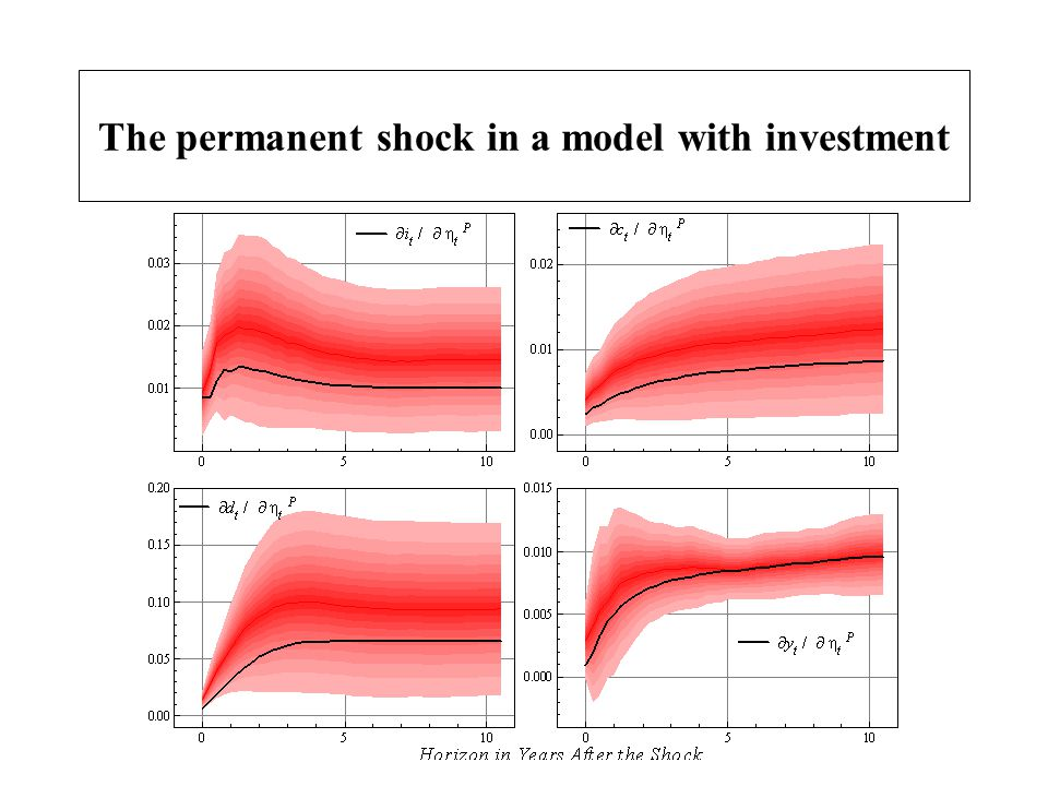 The permanent shock in a model with investment