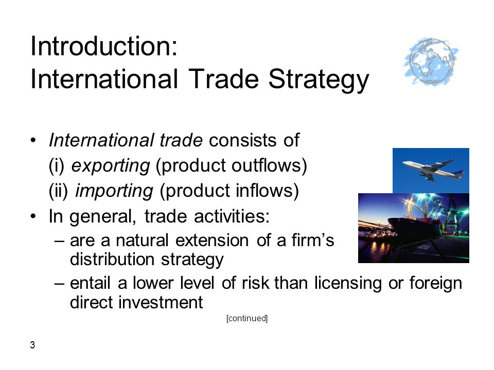 14 An Export Business Plan I.Executive Summary: key elements II.
