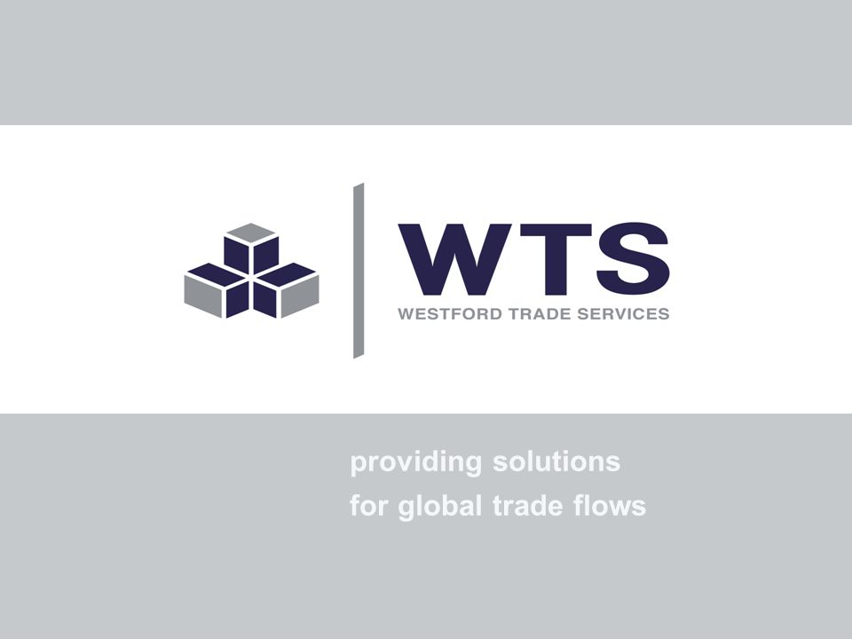 providing solutions for global trade flows
