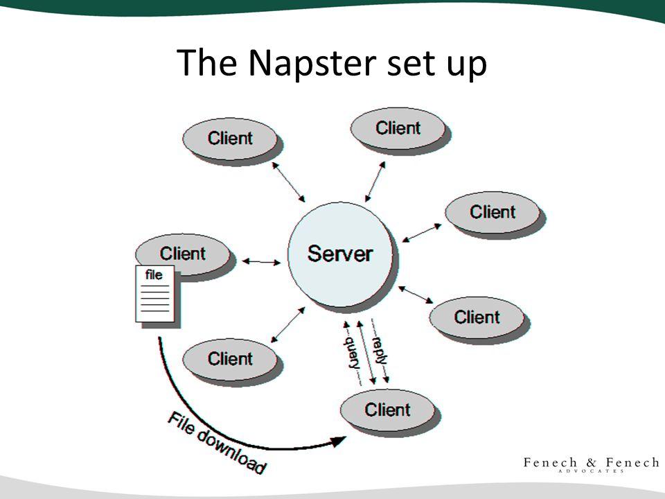 The Napster set up
