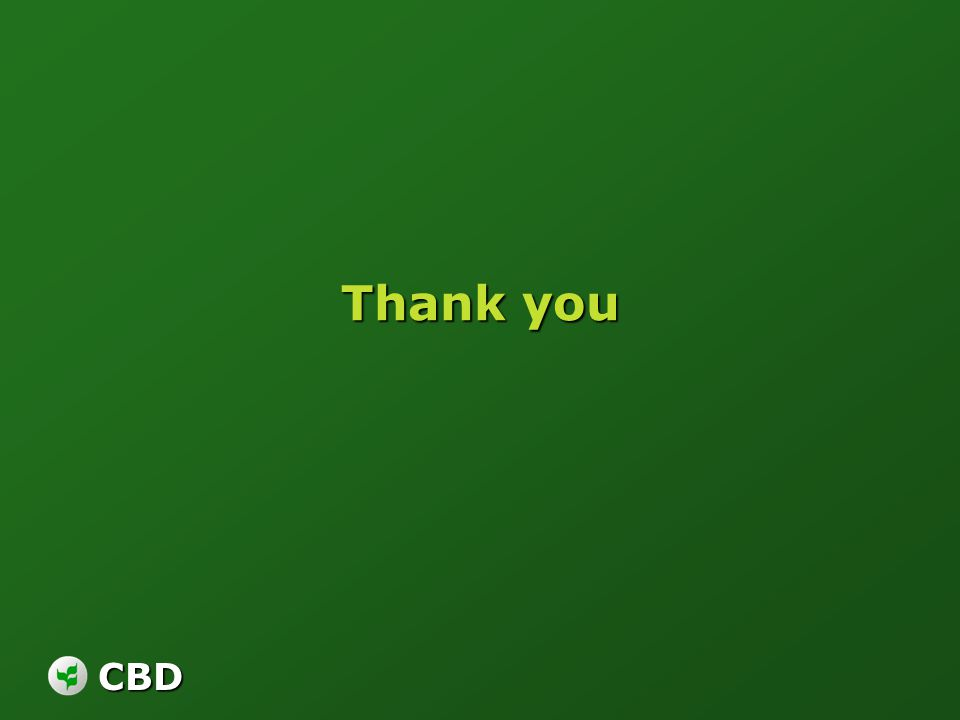 CBD Thank you