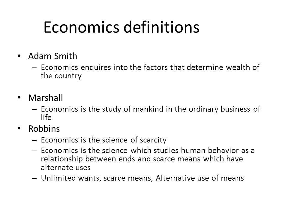 Subject matter of Micro Economics Micro economics deals with demand.