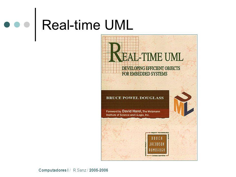 Computadores I / R.Sanz / 2005-2006 Real-time UML