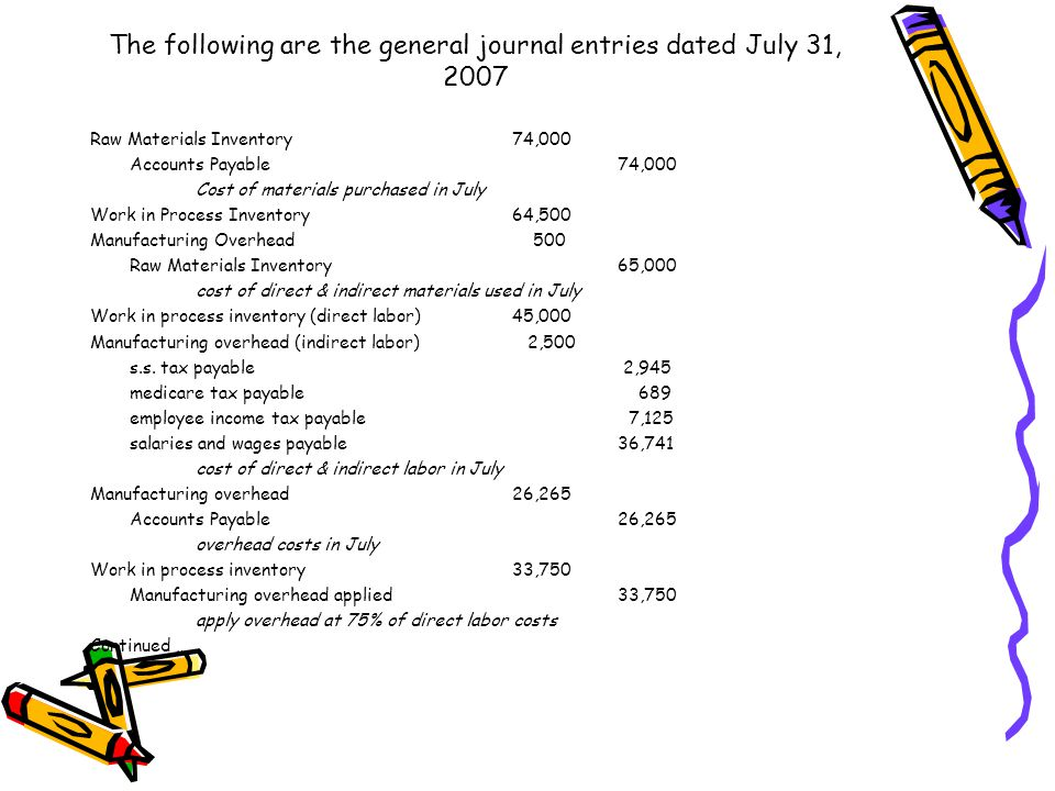 Prepare general journal entries to record each item of cost data given.