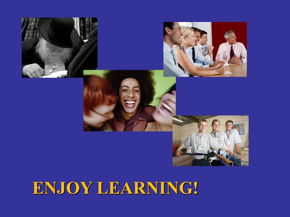ENJOY LEARNING!