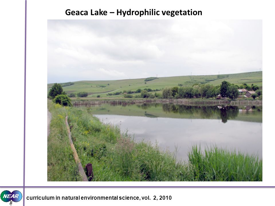 Geaca Lake – Hydrophilic vegetation curriculum in natural environmental science, vol. 2, 2010