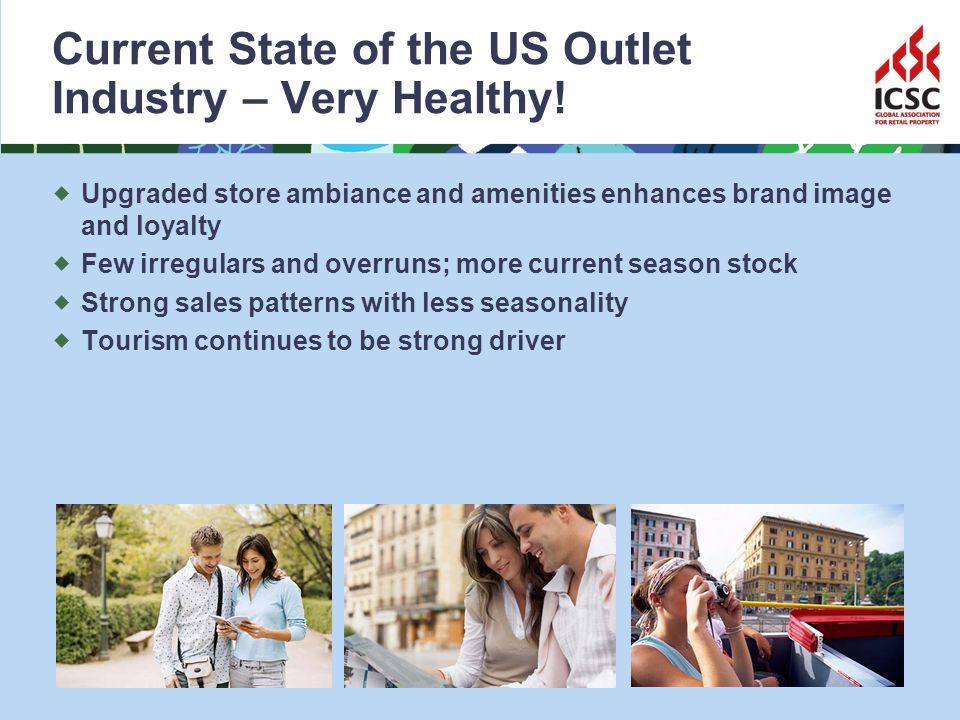 Current State of the US Outlet Industry – Very Healthy.