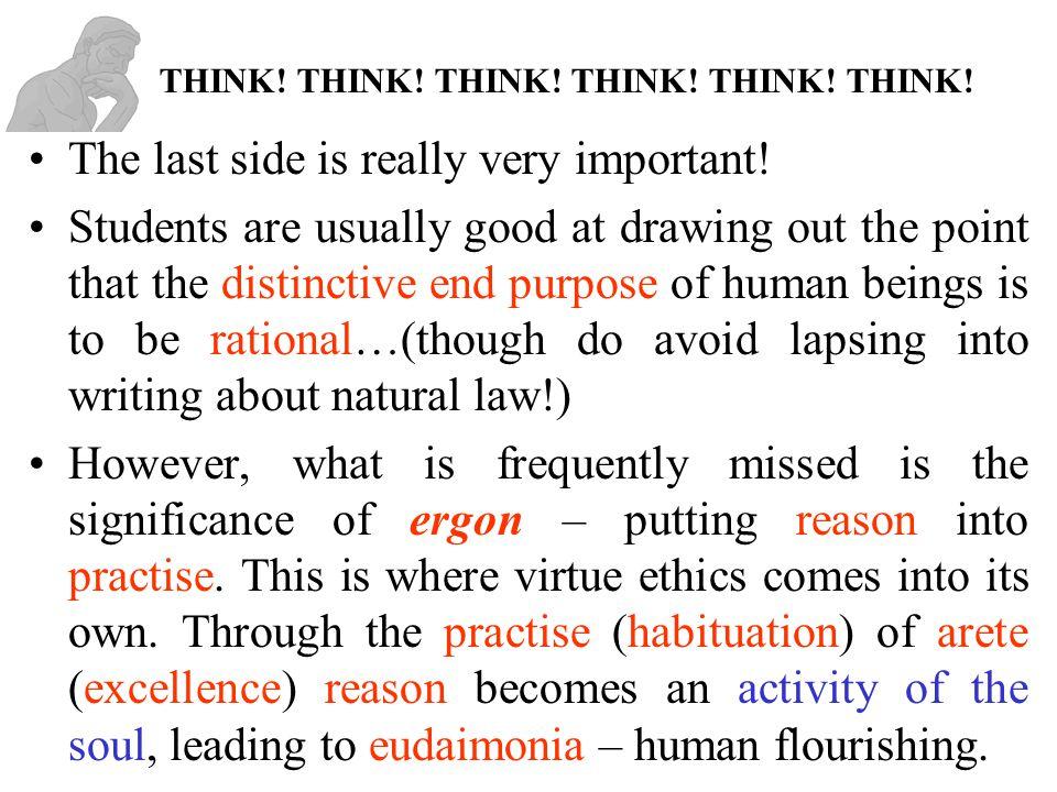 Benefits of Virtue Ethics