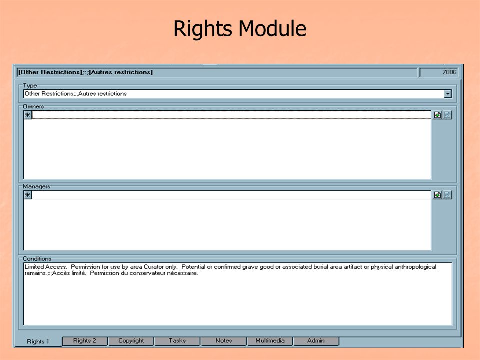 Rights Module