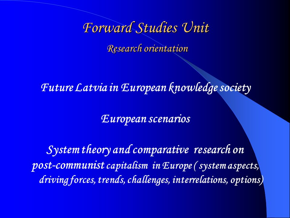 Current issues and challenges Visions from Forward Studies Unit Rethinking Talcott Parsons for methodology and constructive approach globalization system of modern societies theory of action