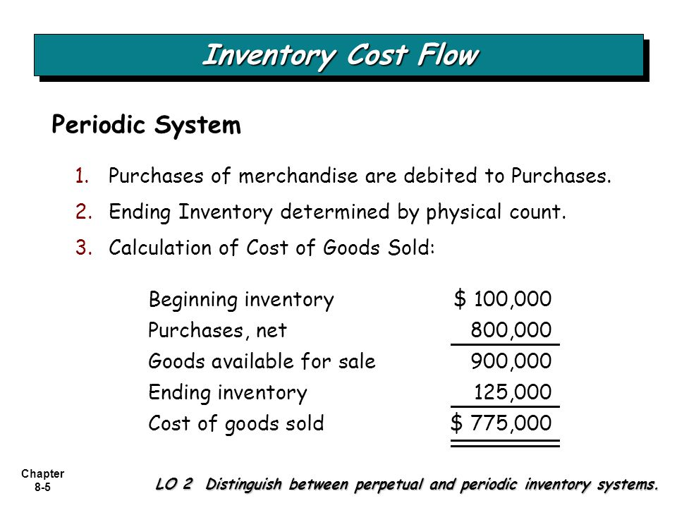 Chapter 8-16 Changes in a pool are measured in terms of total dollar value, not physical quantity.