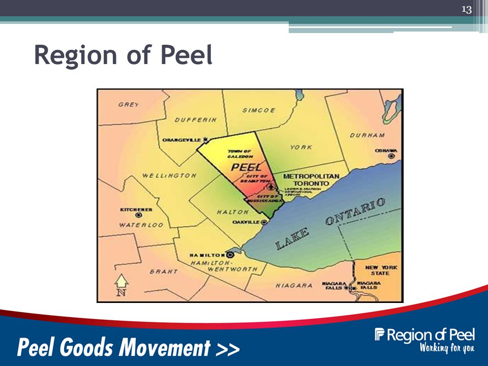13 Region of Peel
