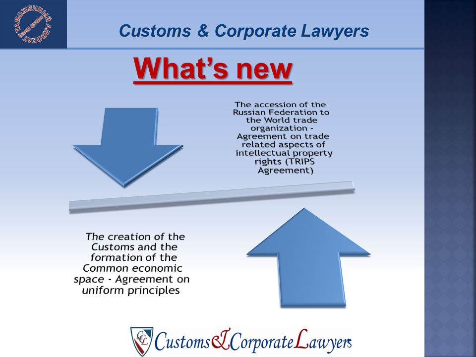 Whats new Customs & Corporate Lawyers