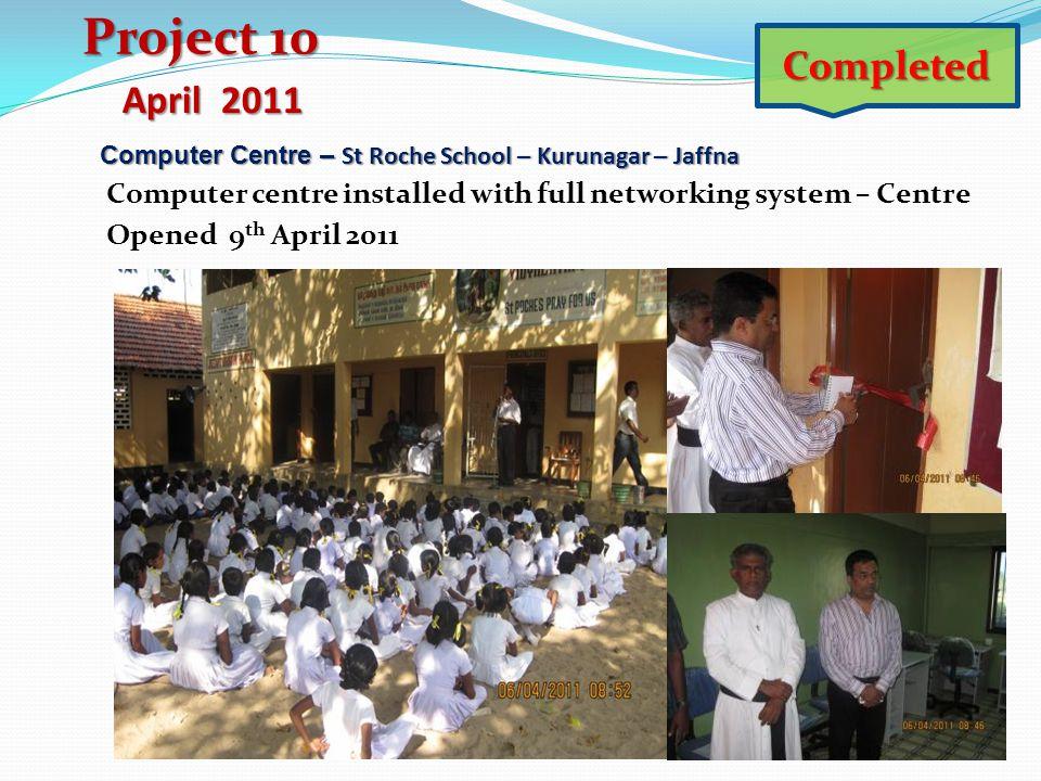 Computer Centre – St Roche School – Kurunagar – Jaffna Computer Centre – St Roche School – Kurunagar – Jaffna Computer centre installed with full netw