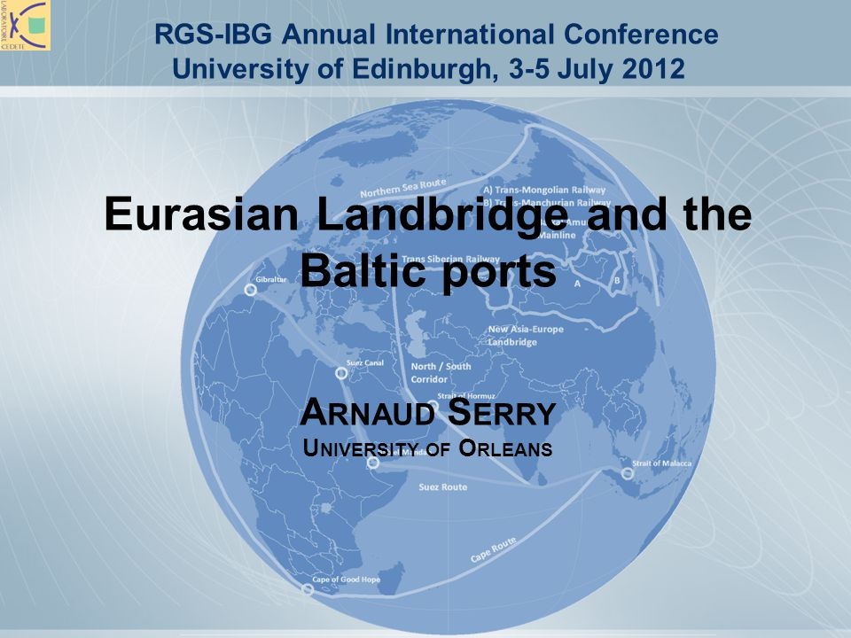 B ALTIC PORTS Main gateways for Russia and CIS.