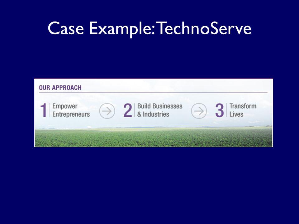 Case Example: TechnoServe