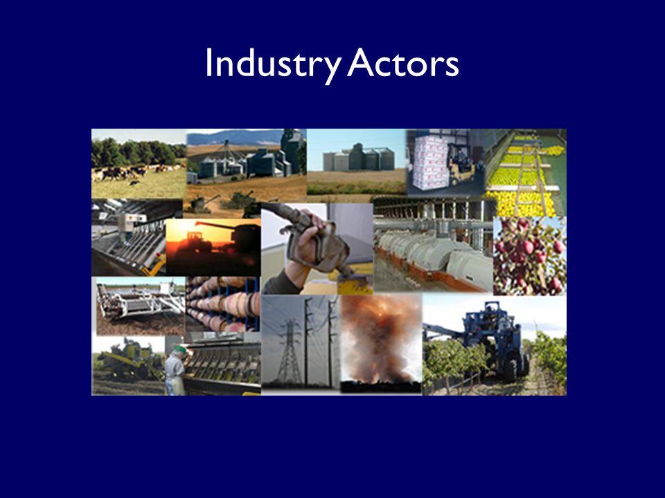 Industry Actors