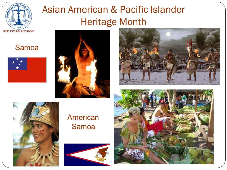 17 Samoa Western Region Asian American & Pacific Islander Heritage Month American Samoa