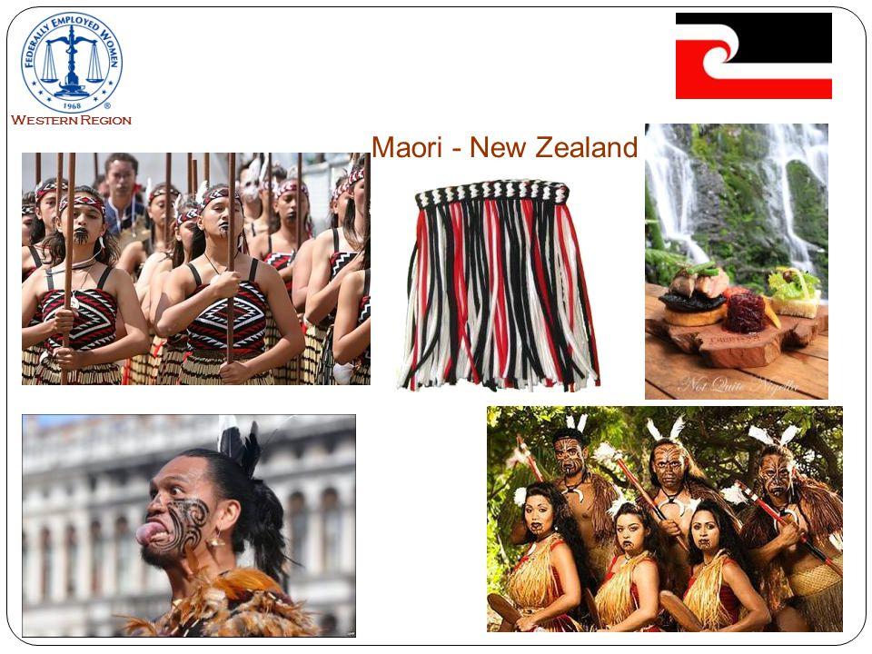 20 Maori - New Zealand Western Region