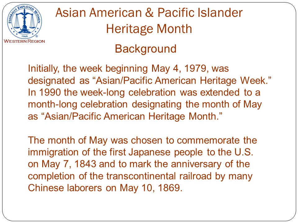 Because of the two important anniversaries mentioned earlier, many people today assume the Chinese or the Japanese were the first Asian Americans to set foot on American soil; however, the first Asian Americans were Filipino men.