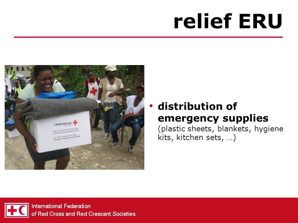 treatment & supply of water basic sanitation water & sanitation ERU