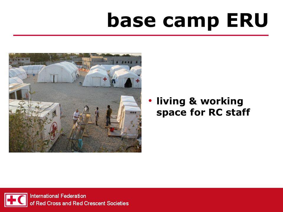 communication in operations between ERUs with IFRC Geneva IT & Telecom ERU